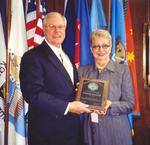 01-04-2005 Alumni Association Presents Service Awards 3/3 by Southwestern Oklahoma State University