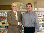 02-14-2005 McAdoo Pledges $10,000 to SWOSU Pharmacy Foundation by Southwestern Oklahoma State University