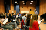03-30-2005 SWOSU Students Rehearse for Concert with Enid Symphony by Southwestern Oklahoma State University