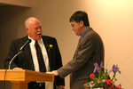04-01-2005 Hayden Wins Bernhardt Award at SWOSU 2/2 by Southwestern Oklahoma State University