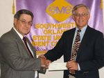 08-03-2005 Fischer Gives $500 Award to SWOSU by Southwestern Oklahoma State University
