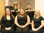 02-06-2006 Tau Beta Sigma Officers by Southwestern Oklahoma State University