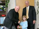 02-15-2006 Youngest-Ever Donor Gives to SWOSU by Southwestern Oklahoma State University