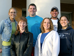 02-27-2006 SWOSU Health Professions Club Officers by Southwestern Oklahoma State University