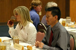 05-02-2006 SWOSU Students and Guest Enjoy Business Lunch 2/3 by Southwestern Oklahoma State University