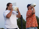 09-08-2006 Stanley Wins Milk Chugging Contest 1/4 by Southwestern Oklahoma State University