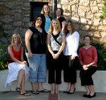 10-09-2006 SWOSU Gamma Delta Kappa Officers by Southwestern Oklahoma State University