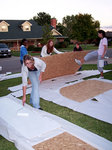 10-17-2006 SWOSU CAB Members Work on Homecoming Float by Southwestern Oklahoma State University