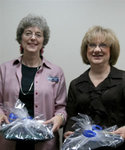 10-17-2006 SWOSU Honors Employees at Reception 3/8 by Southwestern Oklahoma State University