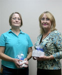10-17-2006 SWOSU Honors Employees at Reception 5/8 by Southwestern Oklahoma State University