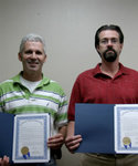 10-17-2006 SWOSU Honors Employees at Reception 8/8 by Southwestern Oklahoma State University