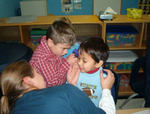 01-23-2007 SWOSU Nursing Students Work With Children 2/2 by Southwestern Oklahoma State University