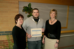 02-01-2007 Webb Receives NASA Space Grant Scholarship at SWOSU by Southwestern Oklahoma State University