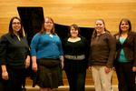 02-22-2007 SWOSU Tau Beta Sigma Officers by Southwestern Oklahoma State University