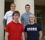 02-26-2007 SWOSU Health Profession Club Officers by Southwestern Oklahoma State University