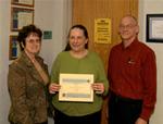 02-27-2007 Harris, McKillip Receive NASA Scholarships at SWOSU 1/2 by Southwestern Oklahoma State University