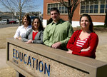 03-08-2007 Student Council for Exceptional Children Officers by Southwestern Oklahoma State University