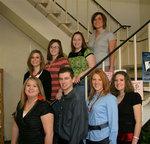 03-08-2007 University Media Association Officers by Southwestern Oklahoma State University