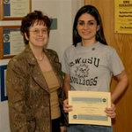 03-09-2007 Carey, Dodson Receive NASA Space Grant Scholarships at SWOSU 1/2 by Southwestern Oklahoma State University