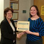 03-09-2007 Carey, Dodson Receive NASA Space Grant Scholarships at SWOSU 2/2 by Southwestern Oklahoma State University