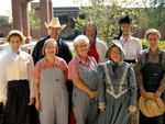 04-20-2007 SWOSU Library Employees in Old-Fashioned Clothes by Southwestern Oklahoma State University