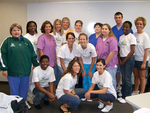 05-02-2007 SWOSU Nursing Students Help at OKC Memorial Marathon by Southwestern Oklahoma State University
