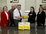 06-12-2007 Wal-Mart Donates Exam Review Books to SWOSU Seniors by Southwestern Oklahoma State University