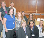 04-17-2008 Criminal Justice Students Present Posters at State Meeting by Southwestern Oklahoma State University