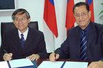 01-15-2009 SWOSU Signs Agreement with Taiwan University by Southwestern Oklahoma State University