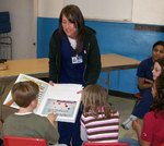 03-03-2009 Senior Nursing Students Conduct Health Fairs at Elementary Schools 2/2 by Southwestern Oklahoma State University