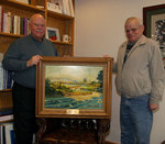 01-28-2010 Artist Donates Picture to SWOSU in Honor of Sarchet by Southwestern Oklahoma State University