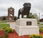 04-19-2010 SWOSU Has New Bulldog Sculpture 1/2 by Southwestern Oklahoma State University