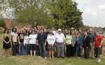 04-27-2010 SWOSU Residence Life Plants Tree in Honor of Former SWOSU President by Southwestern Oklahoma State University