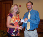 11-09-2010 Turney Receives OAHPERD Scholarship by Southwestern Oklahoma State University