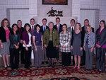 01-04-2011 SWOSU PLC Enjoys Dinner at Governor's Mansion by Southwestern Oklahoma State University
