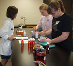 03-03-2011 SWOSU Medical Professions Club Members Demonstrate Health Services to Girl Scouts by Southwestern Oklahoma State University