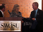 04-05-2011 Governor Fallin Attends SWOSU PLC Banquet by Southwestern Oklahoma State University