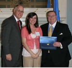 04-08-2011 SWOSU's Courtney Garcia Wins Grand Prize at Oklahoma Research Day by Southwestern Oklahoma State University
