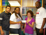 04-20-2011 SWOSU International Students Present Check for St. Vincent de Paul Chapter by Southwestern Oklahoma State University