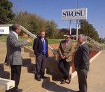 01-31-2012 Oklahoma Senators Jolley and Schulz Visit SWOSU Campus