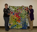 02-01-2012 Thornhill Wins Quilt at SWOSU Office Personnel Luncheon 1/2