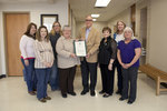 02-20-2012 SWOSU School of Nursing Presented Citation from Rep. Wright