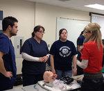 02-23-2012 Air-Evac Team Assists SWOSU Nursing Students 1/2
