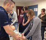 02-23-2012 Air-Evac Team Assists SWOSU Nursing Students 2/2
