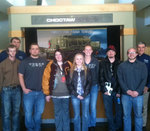 01-28-2013 SWOSU Engineering Technology Students Tour Defense Plant