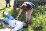 07-09-2013 Upward Bound Students Study Crime