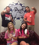 08-12-2013 SWOSU Students Honored as Greek Man and Woman of the Year