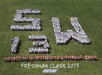 08-22-2013 SWOSU Freshmen Pose for Class Picture