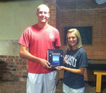 08-22-2013 Hudson Wins Grand Prize at SWOSU Dawg Days Bingo Night
