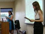 10-08-2013 SWOSU Students Give Presentation at OCTE